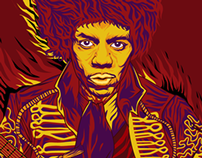Jimi Hendrix, High Lives.