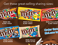 M&Ms Publication Ads