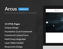 Arcus | Multi-Purpose Business Template