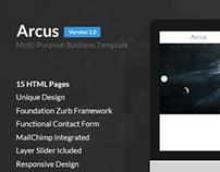 Arcus | Multi-Purpose Business Template