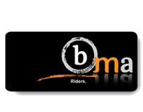 BMA Riders Logo and Business Card