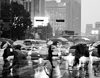Rainy Seoul