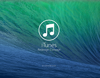 iTunes Redesign Concept
