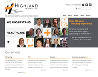 Highland Marketing Website