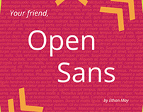 Open Sans Type Treatment Book