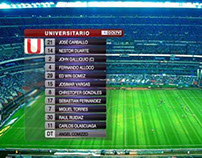 Match Graphics Package - GOL TV 2013