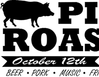 Pig Roast Party Invitation Flyer/Post Card