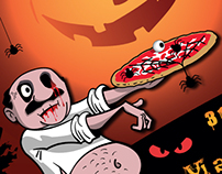 Papà Ninuccio | Halloween Pizza
