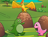 Caverna do Dino Ilustrações