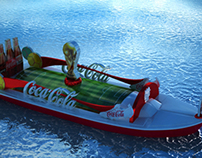 Coca-Cola (Fifa World Cup 2014) Nile Boat.