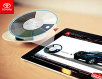 Interface Ui color Toyota Prado 2014