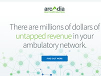Arcadia Solutions | Website Redesign