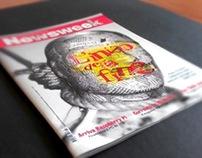 Newsweek magazine rework: the end of printing era