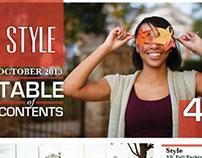 Style Magazine (Concept)