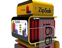 Exhibidor de Piso Zip-Sak