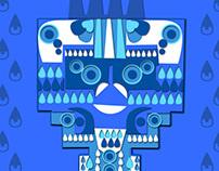 Tlaloc, dios del agua