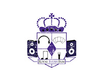 Royal Flush Fam - Music Label Logo