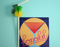 HONOLULU - CD Single Promo