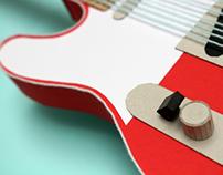 paper / cardoard music instruments