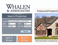 Whalen & Associates Website Design