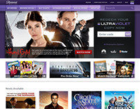 ParamountMovies.com Re-design