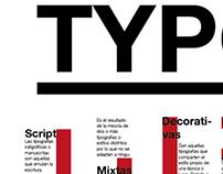 Infografía TYPO