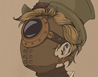 Steam punk cyclopus