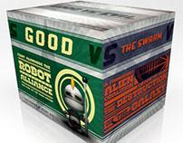 Good vs. Evil Packaging