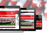 University of Louisville Bands Website