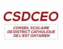 CSDCEO Conseil scolaire de district catholique de l'Est