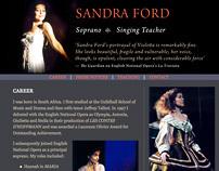 Sandra Ford, website