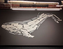 Rubble Whale Mural