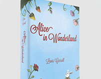Book Design - Alice in Wonderland