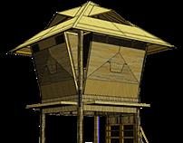 NeGO~Kubo (Bamboo Hut Product for Business)