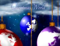 Christmas World - Animated card http://bit.ly/vKPosy