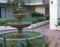 West Hollywood Courtyard Apartments