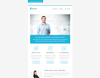 Arini, Clean Business Newsletter Template