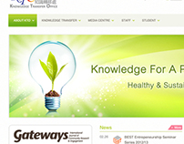 Knowledge Transfer Office website