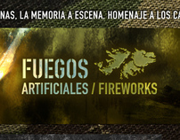 Fuegos Artificiales / Fireworks logo & website