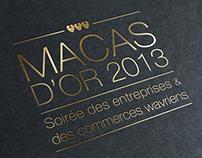 Macas d'Or | Invitation | Ville de Wavre