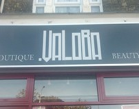 Valoba Store Sign From My Client Logo...