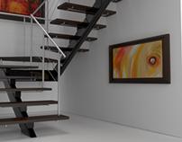 Escalera Interior Apto