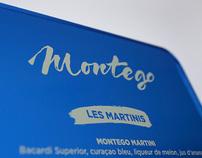 Montego  / carte des martinis