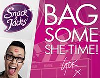 Snack a Jacks - Bag Some She-Time