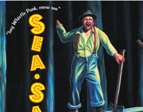 """Sea-Saw"" Postcard Announcement"