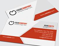 Simple Corporate Business Card - 08