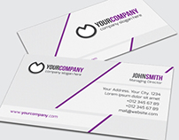 Simple Corporate Business Card - 09