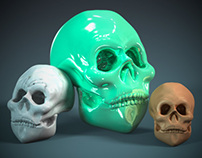 Skull Composition in Photoshop