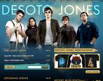 Desoto Jones - Website
