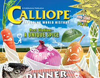Calliope Magazine - Dinner with the Caesars